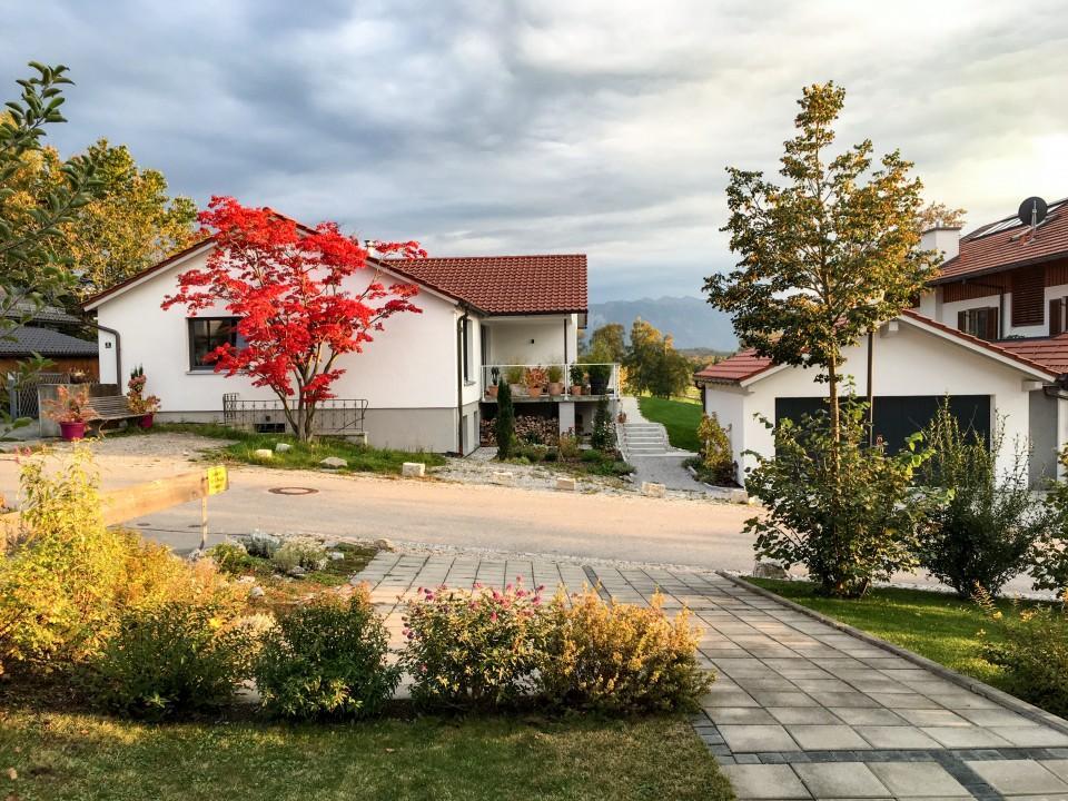 Herbstliche Stimmung im Bayerischen Oberland