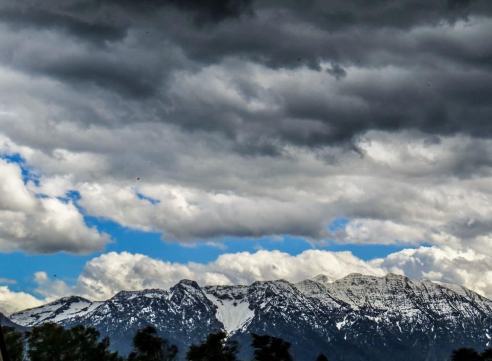 Wolkenstimmung im Bayerischen Oberland