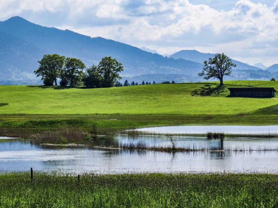 """""""Land unter"""" im Bayerischen Oberland"""