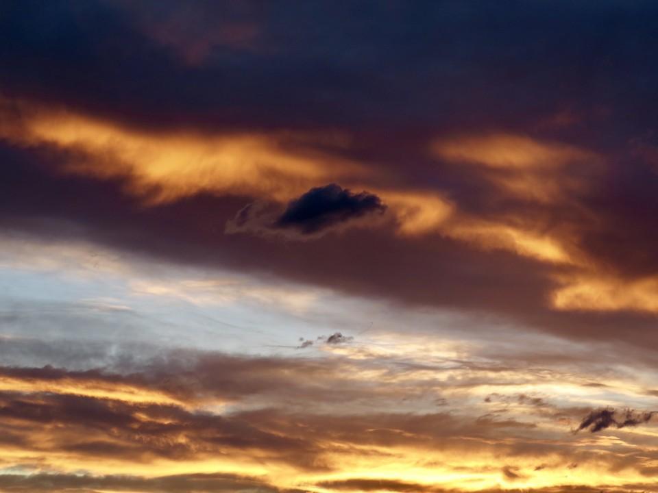 Wolkenstimmung im Oberland