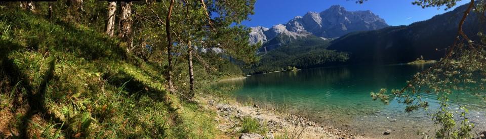 Unterwegs im Bayerischen Oberland, rund um den Eibsee