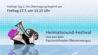 Heimatsound-Festival 2018 - Tag 1, 27.07.2018, ab 15.15 Uhr