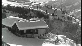 Bergbauernwinter damals: Abenteuerliches Holzrücken und Heuziehen | Unser Land | BR