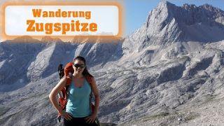 Wanderung auf die Zugspitze übers Gatterl - Deutschlands höchster Berg