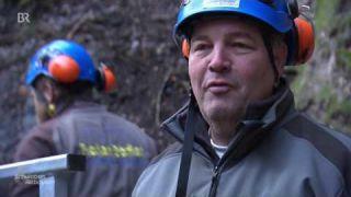 Sanierung der Partnachklamm: Helikopter-Einsatz | BR Fernsehen