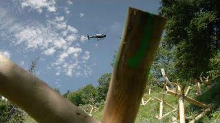 Hubschraubereinsatz am Grüneck: Lawinenschutz für eine Bundesstraße | Schwaben & Altbayern
