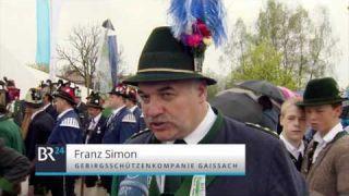 Patronatstag: Aufmarsch der Gebirgsschützen im Oberland | BR