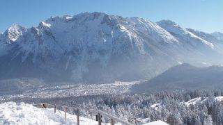 Mittenwald, Karwendel, 4k-Drohne | Bayerische Alpen