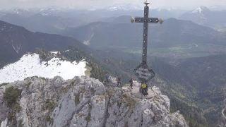 Größtes Gipfelkreuz Bayerns | Heimat der Rekorde | BR