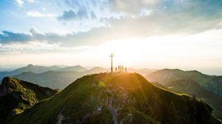 Die Alpenregion Tegernsee Schliersee von oben
