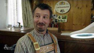 Lederhosen handgemacht: Säckler Krippel aus Riegsee | BR Fernsehen