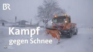 Kampf gegen den Schnee: Winter in Waakirchen   BR