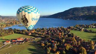 Balloning Tegernsee - Ballonfahren in den Alpen
